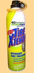GIVE YOUR TIRES A SHOT OF NITROGEN WITH TIRE XTENDER